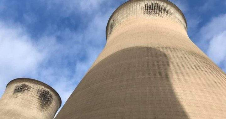 Ferrybridge C close-up: Cooling towers on show before demolition