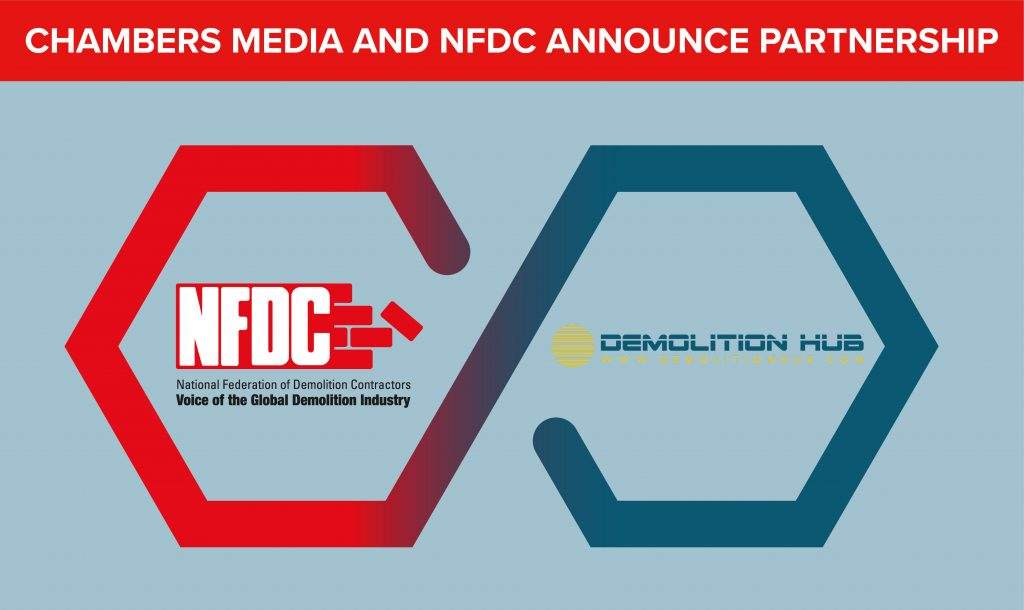NFDC AND CHAMBERS MEDIA ANNOUNCE PARTNERSHIP TO PROMOTE DEMOLITION INDUSTRY