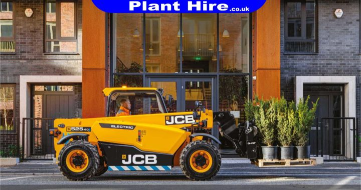 M O'Brien Plant Hire to be first to receive New JCB E-Tech Telehandlers